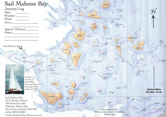 Sail Mahone Bay Sailing Instruction In Beautiful Mahone Bay Only - Us navy map mahone bay ns